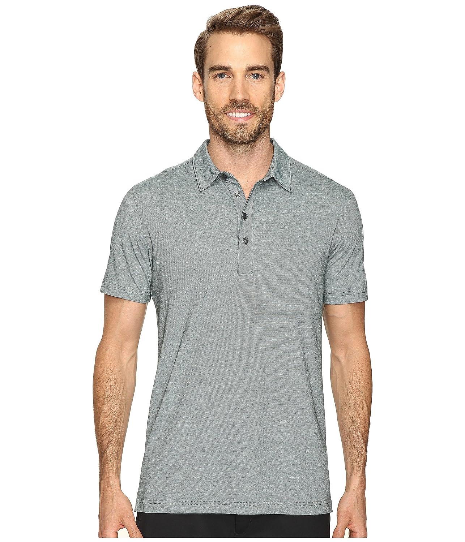 プーマ トップス シャツ Short Sleeve Tailored Micro Stripe Polo Ponderosa 12o [並行輸入品]
