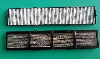 Filtros electrostáticos y fotocatalizadores con chasis de soporte para aire acondicionado Fujitsu