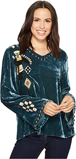 Double D Ranchwear Ritual Dance Top