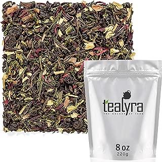 Tealyra - Fat Burner - Wellness weight-loss Tea Blend - Pu Erh Aged with Sencha Green Tea and Wu-Yi Oolong - Diet Refreshing - Natural Ingredients - Healthy - Detox Loose Leaf Tea - 220g (8-ounce)