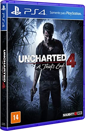 Uncharted 4: A Thiefs End - PlayStation 4