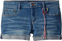 Riley Denim Shorts in Ada Wash (Big Kids)