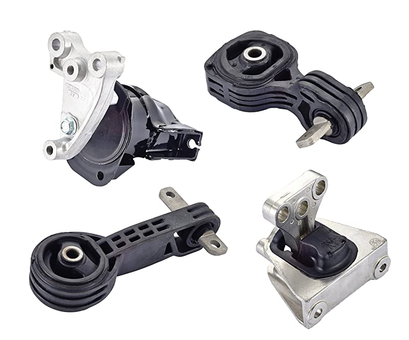 Engine Motor and Trans Mount Set of 4 for 2006 2007 2008 2009 2010 Honda Civic 1.8L Automatic Transmission
