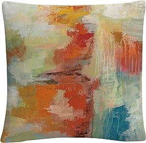 Trademark Fine Art Coral Reef by Silvia Vassileva, 16x16 Decorative Throw Pillow