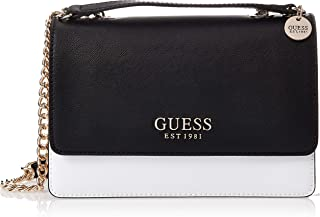 Guess Womens Cross-Body Handbag, Tan Multi - VT767221