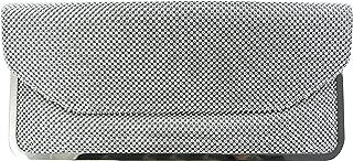 La Regale Women's Mesh Envelope Clutch
