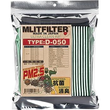 ホンダ車用(フリード、ヴェゼル、フィット、グレイス、インサイト) エムリット フィルター (MLITFILTER) 日本製 D-050(G)