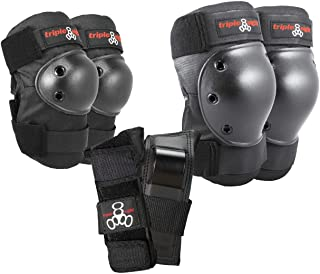 Triple Eight Saver Series Pad Set with Kneesavers, Elbowsavers and Wristsavers
