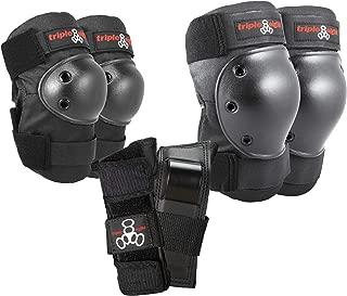 Triple Eight Saver Series Pad Set with Kneesavers, Elbowsavers and Wristsavers