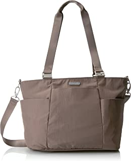 Baggallini Medium Avenue Tote Black/Sand