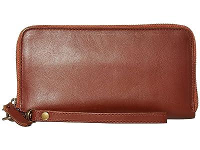 ABLE Alem Continental Wallet (Whiskey) Wallet Handbags