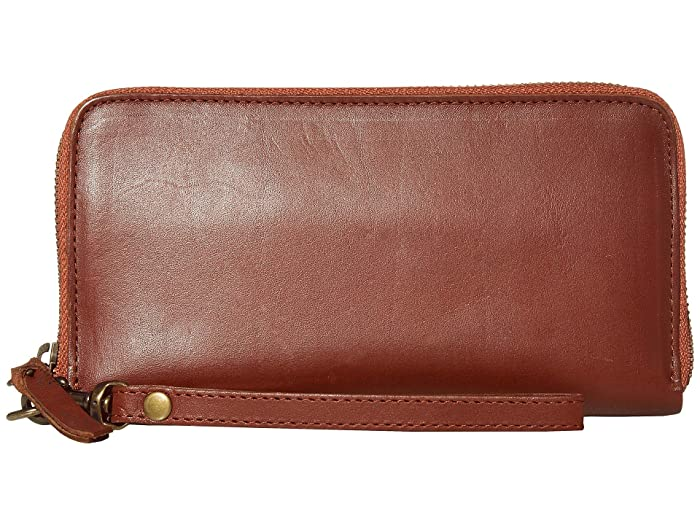 ABLE  Alem Continental Wallet (Whiskey) Wallet Handbags