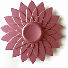Lotus Pattern Fidget Spinner Finger Toy Pink