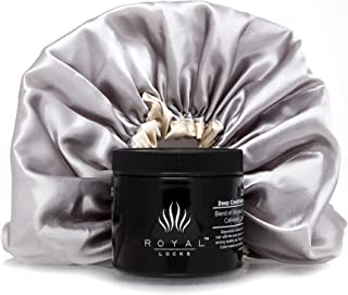 Deep Conditioning Hair Mask and Cap Treatment by Royal Locks Repair for Curly, Wavy, Dry, Damaged, Colored Hair for Hydrating Moisture and Conditioning.