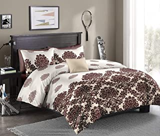 Flower Single Comforter, 160X220Cm, 4 Pieces, AIWA1145