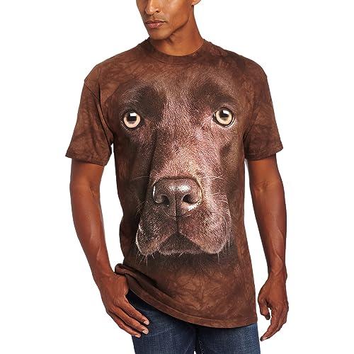 Nouveau Chocolate Lab Face T Shirt