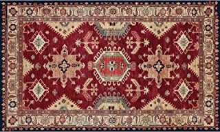 RUGGABLE 131558 Indoor/Outdoor Stain Resistant Accent Rug (Cover and Pad)