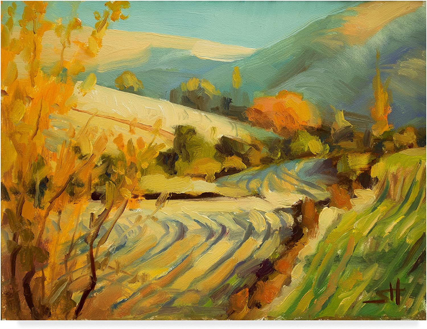 After Harvest by Steve Henderson, 14x19Inch