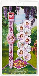 Disney Sofia Girls Interchangeable Dial Wristwatch - TRHA5696