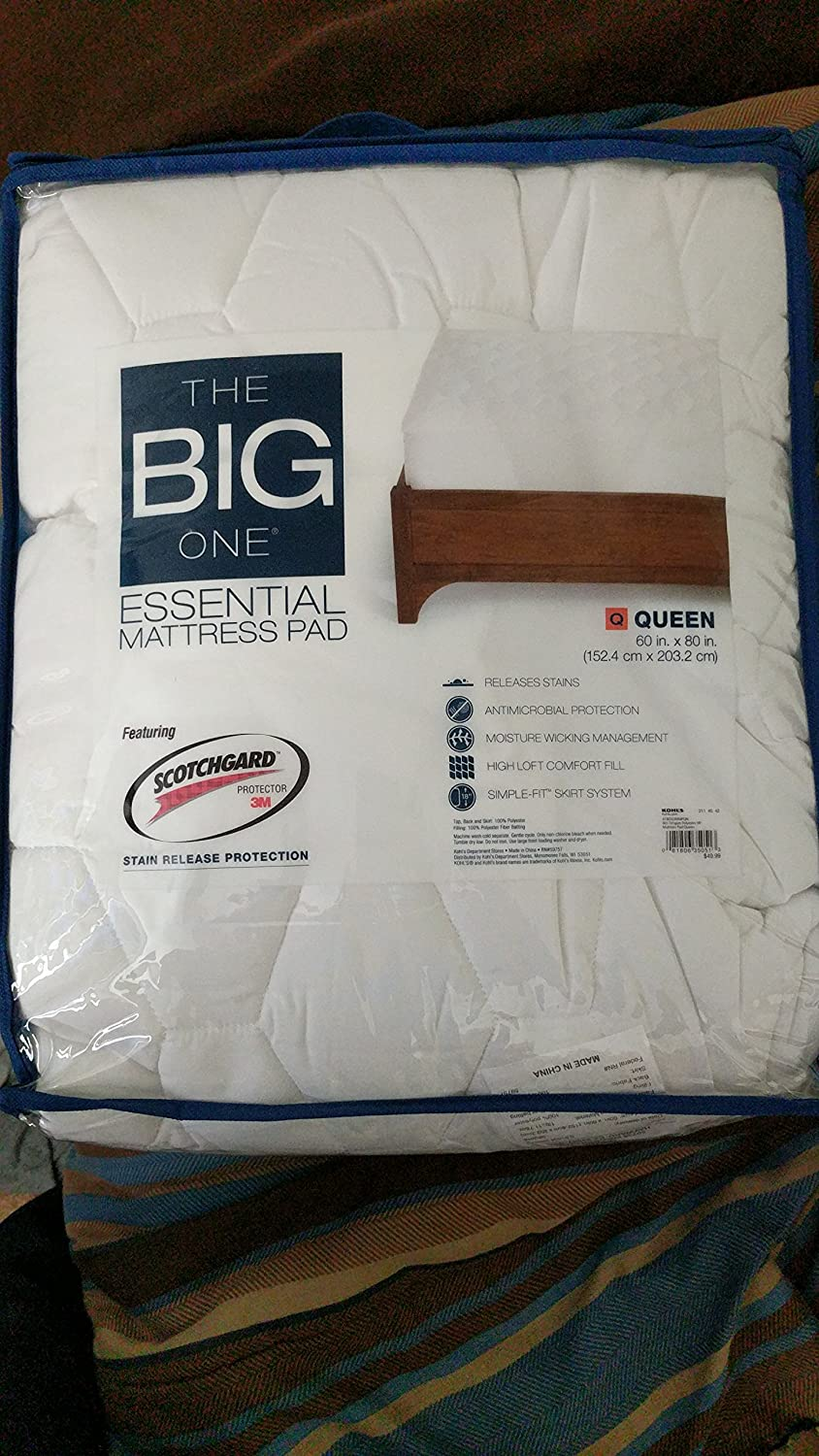 The Big One Essential Mattress Pad - Queen