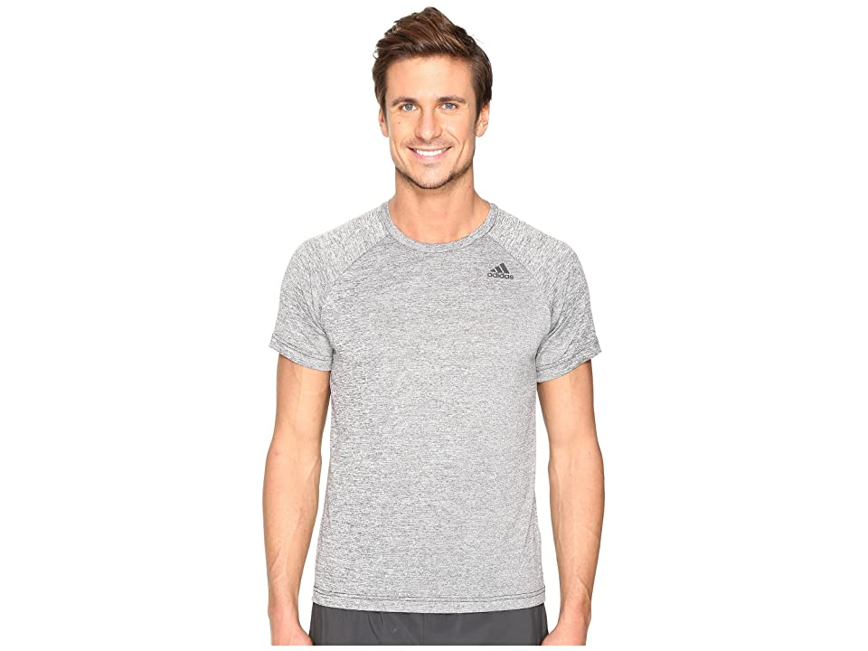 adidas Designed-2-Move Heather Tee (Black) Men