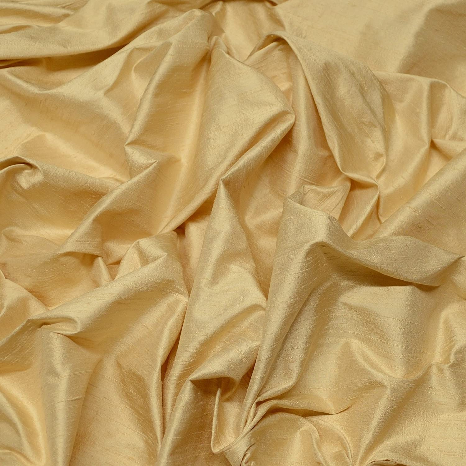 """Details about  /Bridal 100/% DUPIONI SILK FABRIC Quilt Sew Drapery 24 Color Width 44/"""" Craft Cloth"""