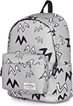 """HotStyle CANDER 15"""" Simple College Backpack, Stylish Bookbag for High School Teens, Fits 15.6-in Laptop, fits 15-in Laptop"""