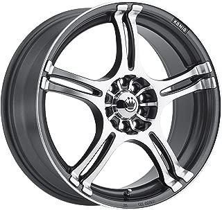 Konig Incident Graphite Machined Wheel (16x7