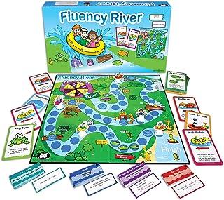 Super Duper Publications Fluency River Fluency Speech Improvement Board Game Educational Learning Resource for Children
