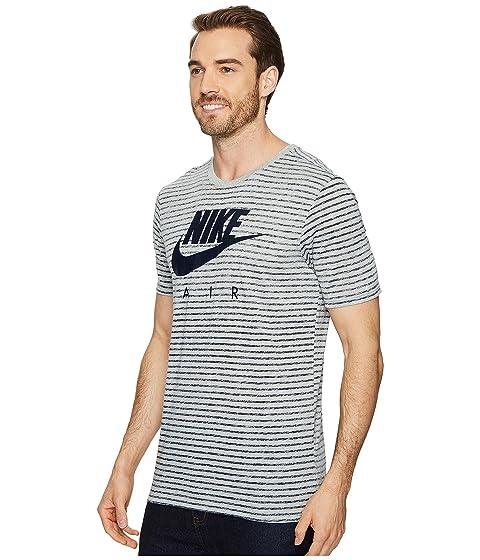Camiseta obsidiana Nike rayas oscuro Sportswear a gris jaspeado wa0wBrq