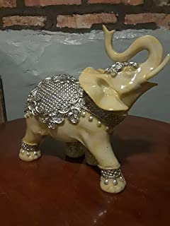 Limoges Porcelain Elephant on USA Flag Box