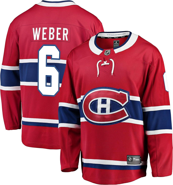 Shea Weber Montreal Canadiens NHL Fanatics Breakaway Home Jersey