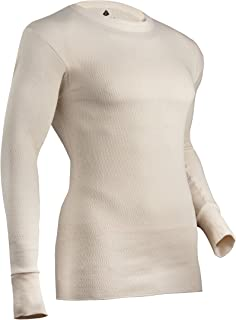 Indera Men's Expedition Weight Cotton Raschel Knit Thermal Underwear Top