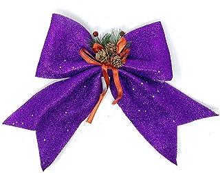 allgala Christmas Decorative Bows for Wreath Garland Treetopper Christmas Tree (14