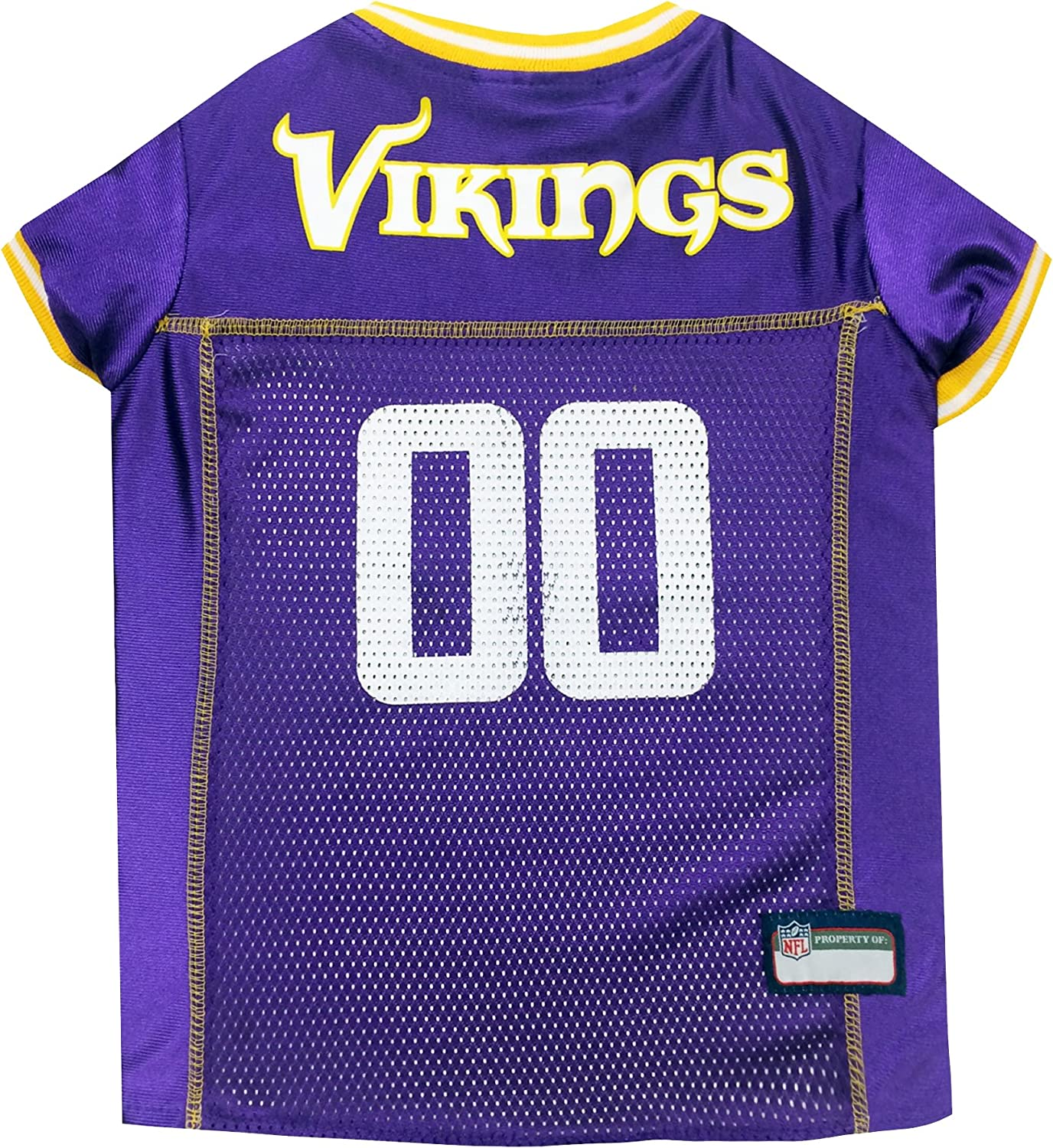 Pets First Minnesota Vikings Spring new Super special price work one after another Jersey Pet Mesh NFL