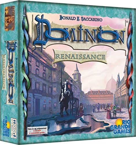 Rio Grande Games RIO559 Dominion: Renaissance, Game