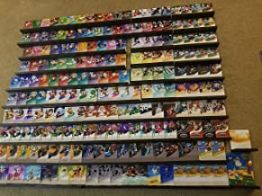 COMPLETE Amiibo Set Wall Display. Over 190 slots!! Including the entire line of Smash Ultimate and DLC.!