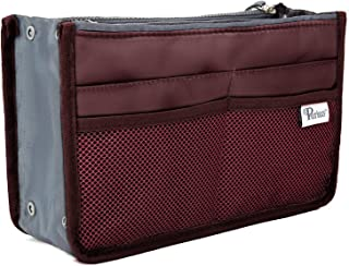 Periea Handbag Organiser - Chelsy - 28 Colours Available - Small, Medium Large (Medium, Wine)
