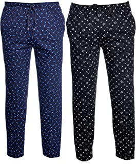 VIMAL JONNEY Men's Cotton Blended Trackpants (Pack of 2)