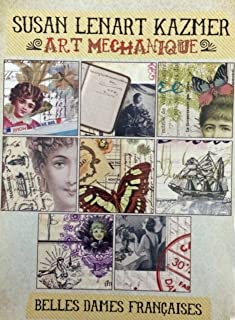 ICE Resin® Art Mechanique Image Pack Belle Dames Francaises