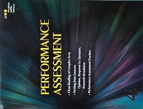 Journeys: Performance Task Assessment Student Grade 4