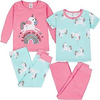 Gerber baby-girls 4-Piece Pajama Set Pajama Set
