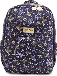 JuJuBe x Harry Potter MiniBe Kids Backpack | Travel-Friendly, Compact, Lightweight, Padded, Adjustable Straps for Kids and Adults | Flying Keys