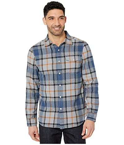 The North Face Long Sleeve Arroyo Flannel Shirt (Mid Grey Speed Wagon Plaid) Men