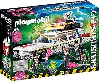 PLAYMOBIL Ghostbusters Ecto-1A con Módulo de Luz y Sonido, a Partir de 6 Años (70170)