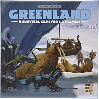 Sierra Madre Greenland Second Edition Board Game