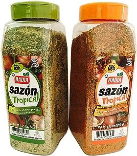 Combo Pack Sazon Tropical All Purpose Seasoning 1.75 lbs Each
