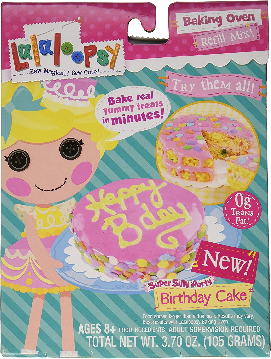 Lalaloopsy Baking Oven Mix Confetti Pink Very popular Cake Brand Cheap Sale Venue Hot with Frosting
