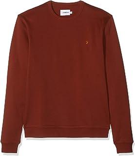 Farah Men's Pickwell Garment Washed Sweatshirt