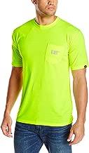 Caterpillar Men's Hi-Vis Trademark Pocket T-Shirt